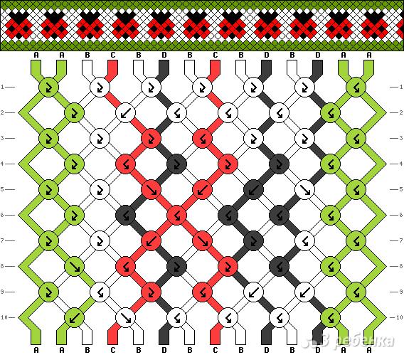 Схема фенечки 14183