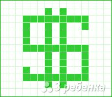 Схема фенечки прямым плетением 14856
