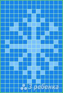Схема фенечки прямым плетением 14756