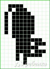 Схема фенечки прямым плетением 14834