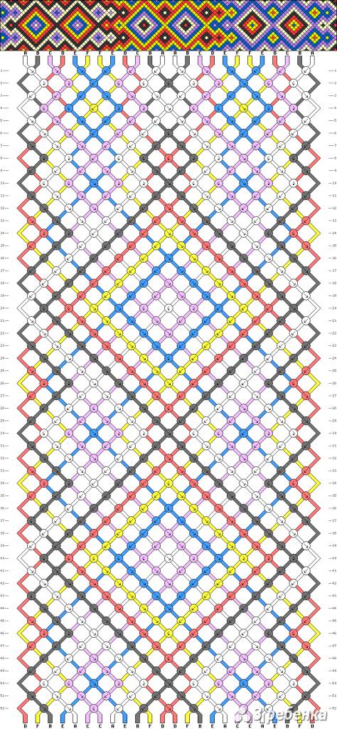 Схема фенечки 16886
