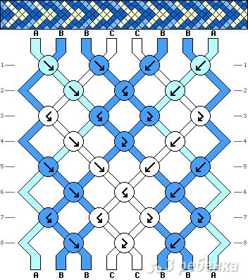 Схема фенечки 15919
