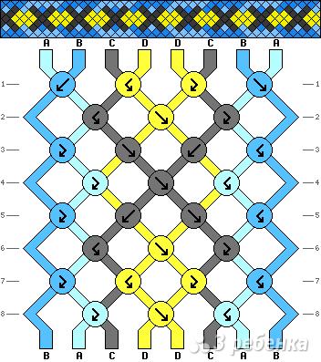 Схема фенечки 15913