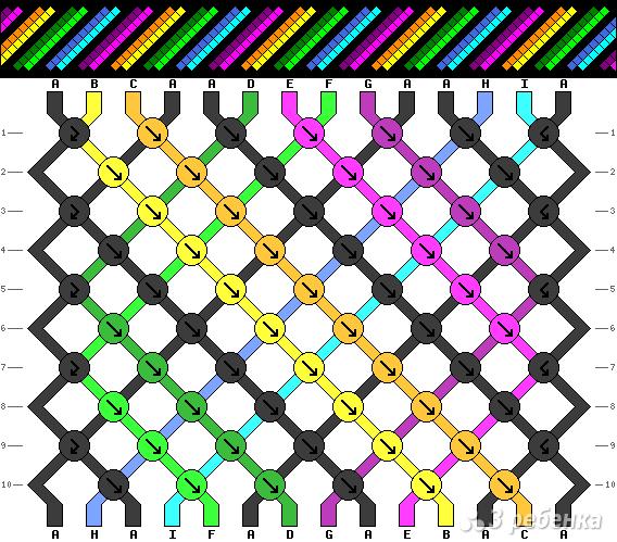 Схема фенечки 15906