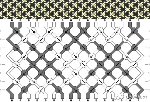 Схема фенечки 16901