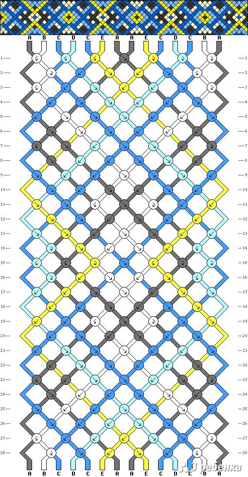 Схема фенечки 17164
