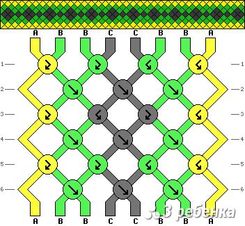 Схема фенечки 17032