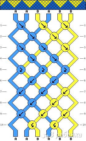 Схема фенечки 15884