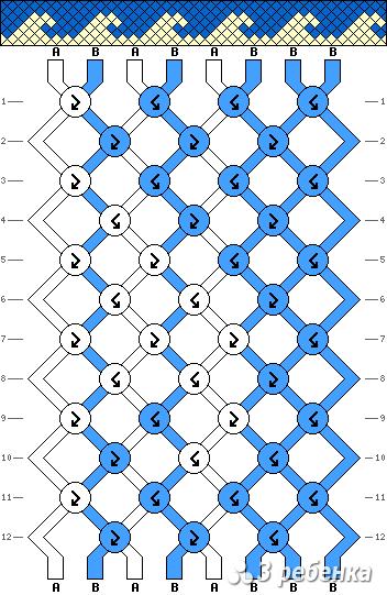 Схема фенечки 16853