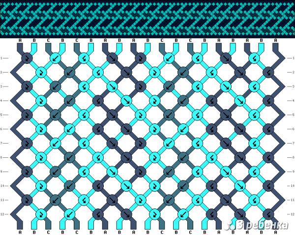 Схема фенечки 17131