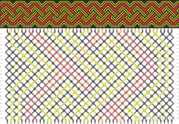 Схема фенечки 15878