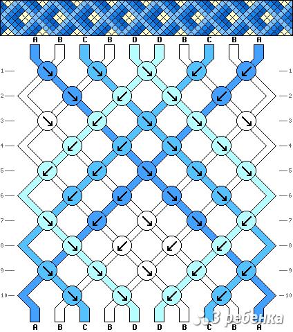 Схема фенечки 16919