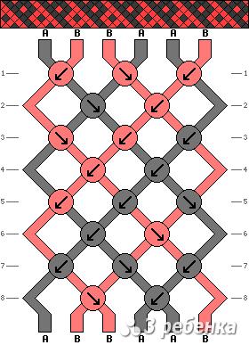 Схема фенечки 16927