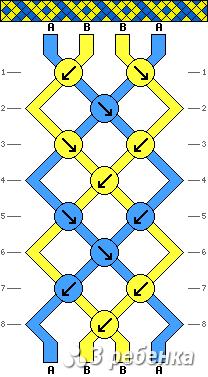 Схема фенечки 16966