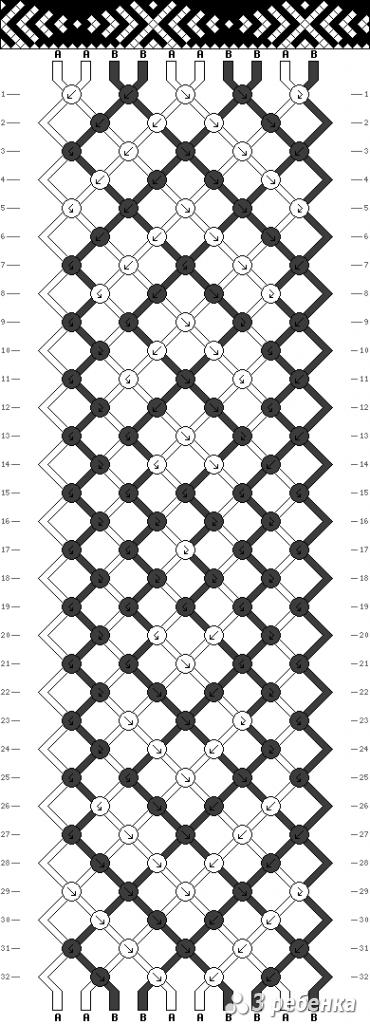 Схема фенечки 16862