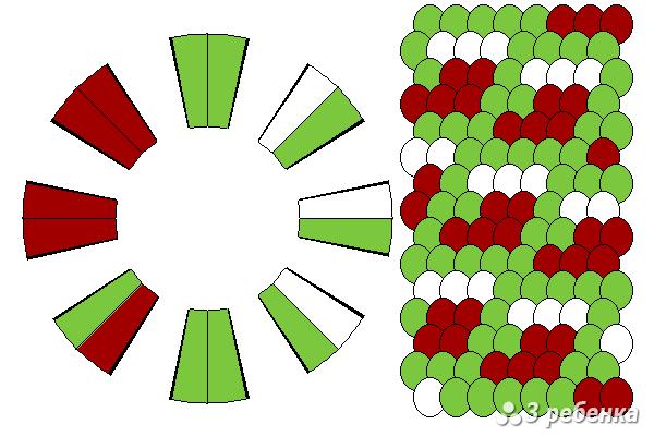 Схема фенечки кумихимо 18220
