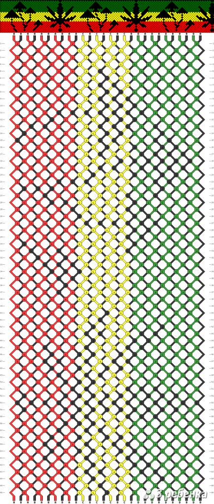 Схема фенечки 16831