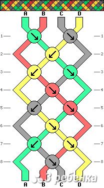 Схема фенечки 16839