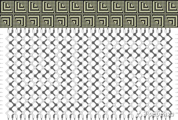 Схема фенечки 17153