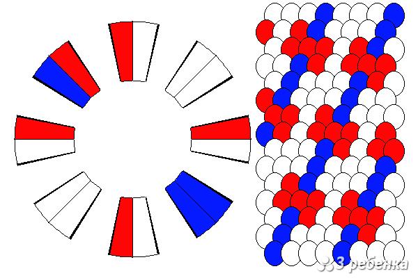 Схема фенечки кумихимо 18212