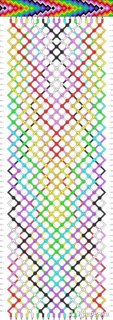 Схема фенечки 16946