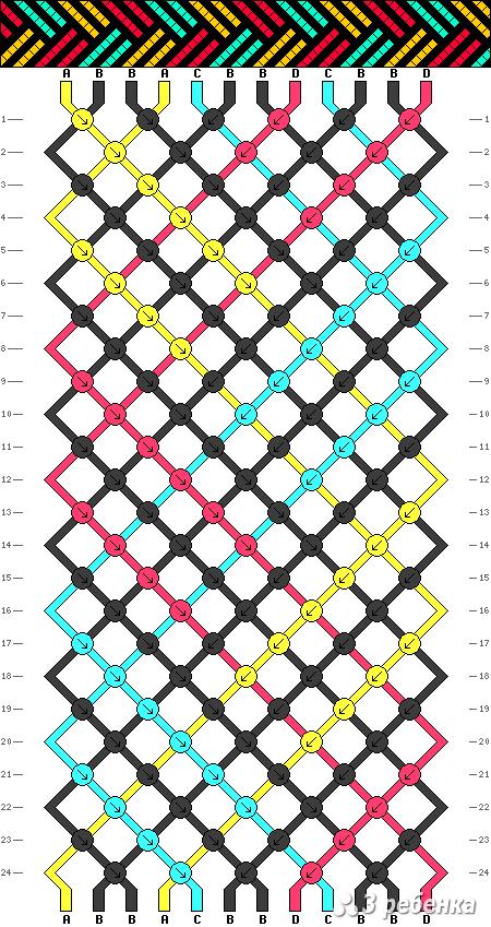 Схема фенечки 17117