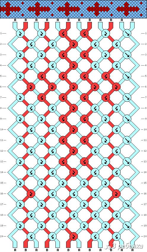 Схема фенечки 16821