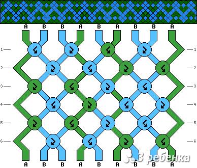 Схема фенечки 16957