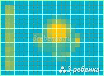 Схема фенечки прямым плетением Казахстан