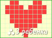 Схема фенечки прямым плетением 17477