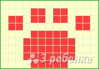 Схема фенечки прямым плетением 14993