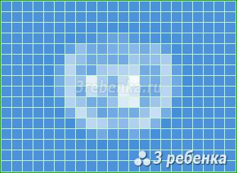 Схема фенечки прямым плетением Организация Объединенных Наций (ООН)
