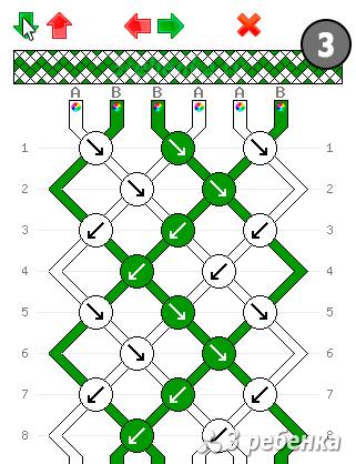 Программа по созданию схем для фенечек прямым