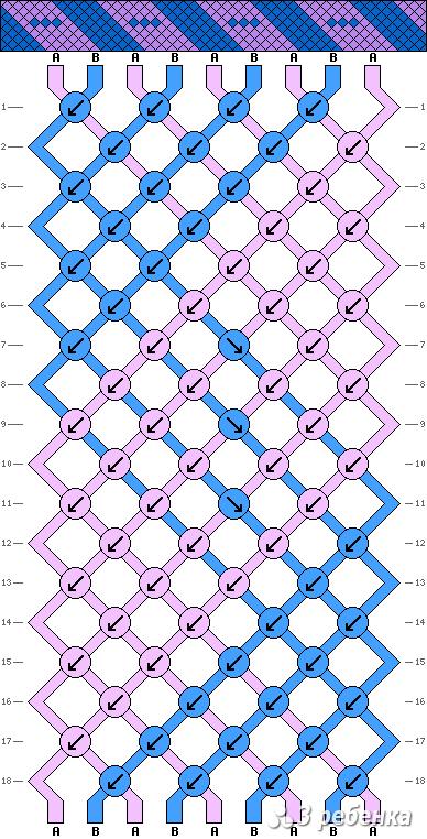 Схема фенечки 17767