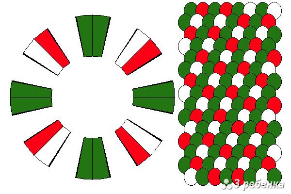 Схема фенечки кумихимо 18724