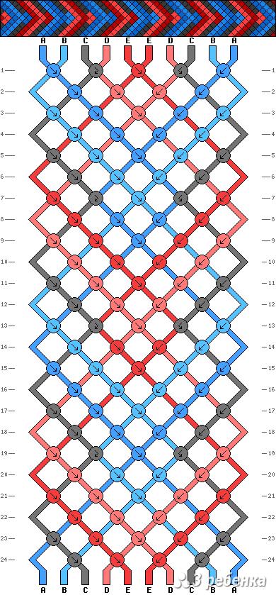 Схема фенечки 17609