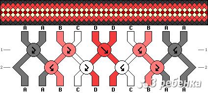 Схема фенечки 17266
