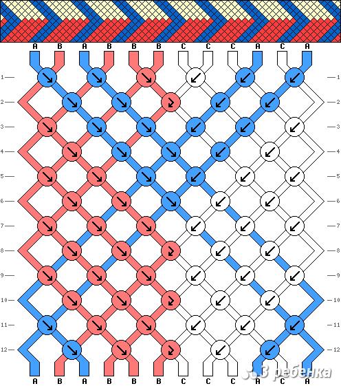 Схема фенечки 17805
