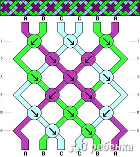 Схема фенечки 17618