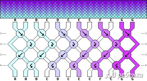 Схема фенечки 17302