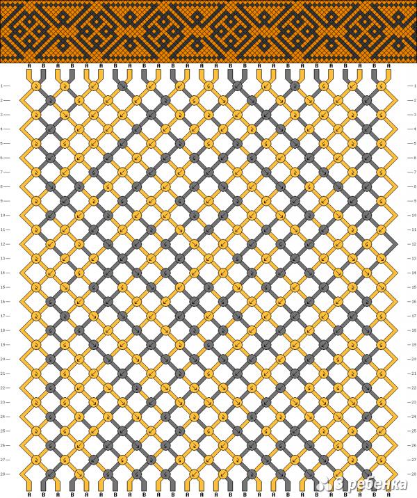 Схема фенечки 17776