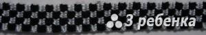Схема фенечки прямым плетением 18315