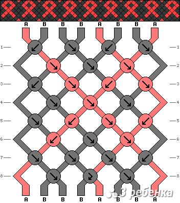 Схема фенечки 17781
