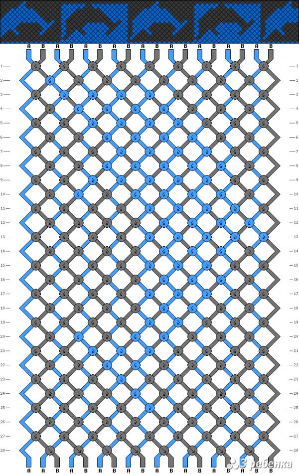 Схема фенечки 17698