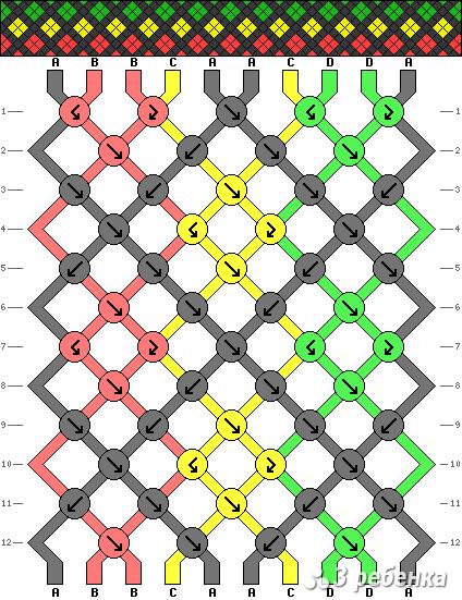 Схема фенечки 17680