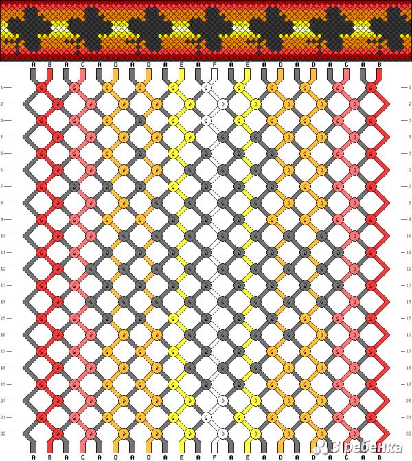 Схема фенечки 17291