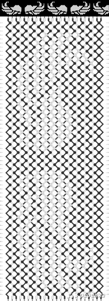 Схема фенечки 17252