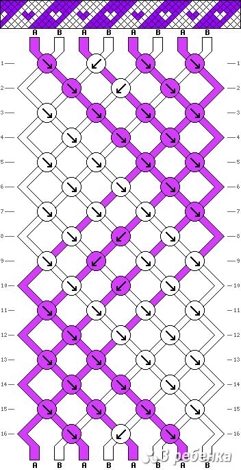 Схема фенечки 17702