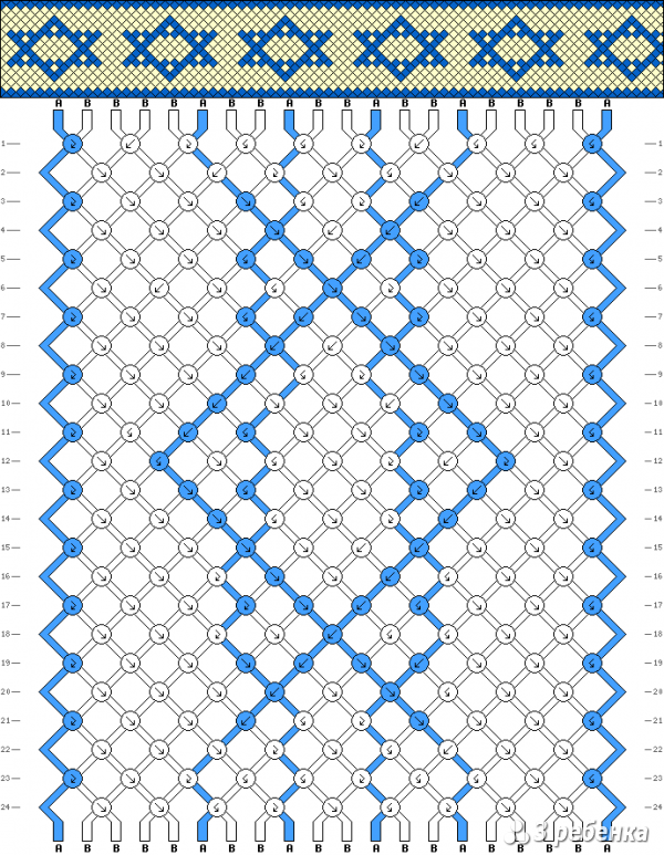Схема фенечки 17887
