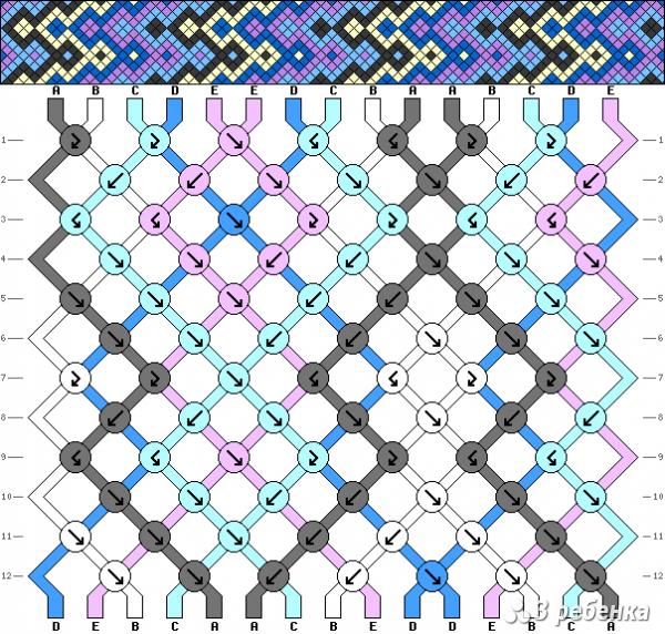 Схема фенечки 17752